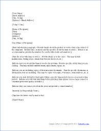 sample inform letters