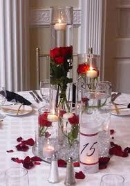 wedding centerpieces vases wedding centerpieces with cylinder vases and roses