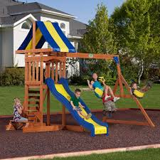 Backyard Playground Slides by Outdoor Playsets Psi Outdoor Play Equipment