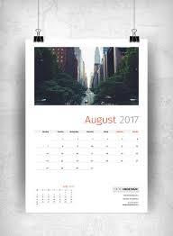 wall calendar 2017 stockindesign