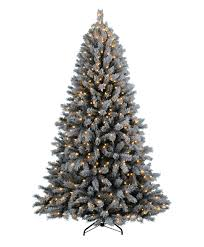 alpine estates flocked fir artificial tree tree classics