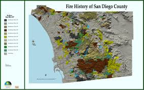 Oregon Fires Map San Diego Wildfire 2003 Web Mapping Services