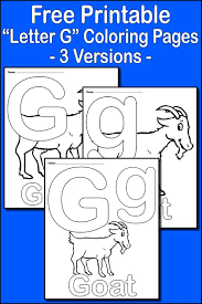 letter g alphabet coloring pages 3 free printable versions