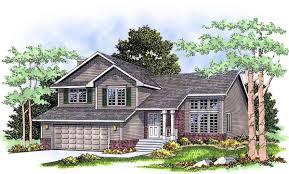 split level home plan 8963ah architectural designs house plans split level home plan 8963ah 01