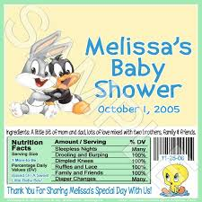 baby looney tunes baby shower decorations baby looney tunes baby shower invitations party xyz