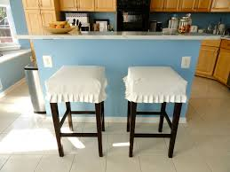 rachel s nest kitchen barstool slipcovers i m so happy that i didn t spend 323 for the pretty ballard stools when i got my own version for just 157