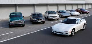 mazda car line driving fifty years of classic mazda rotary power slashgear