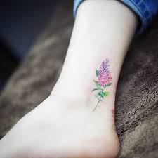 Small Flower Tatoos 15 Of The Smallest Most Flower Tattoos