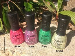 beauty professor nubar alter ego collection swatches and review
