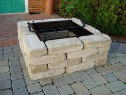 Brick Fire Pits by How To Make A Fire Pit Bricks Fire Pits Pinterest Square