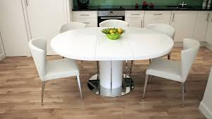extendable dining room table dining table white round extendable dining table and chairs table