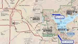 lake mead map cing with at lake mead recreation area