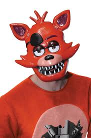 five nights at freddy u0027s foxy 1 2 mask purecostumes com