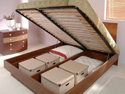 Small Storage Room Design - space saving bed with storage design ideas for small spaces