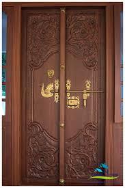 main door designs for indian homes front door designs kerala stylereal estate home living now 96279