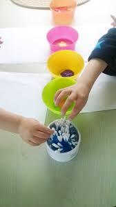 cotton bud painting summer craft for kids u2013 hey ali