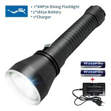plongée 130 m puissant lumière xhp70 led plongée sous marine le