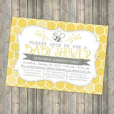 bee baby shower baby shower invitations to bee baby shower invitations