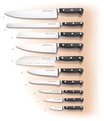 knives kitchen a g forged italian made kitchen knives agrussell