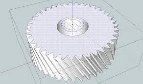 drawing gears in sketchup capolight electronics projects