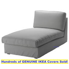 Chaise Lounge Slipcover Ikea Kivik Chaise Lounge Slipcover Cover Orrsta Light Gray Ebay