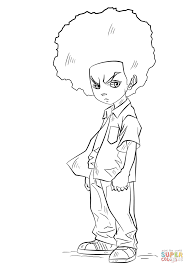 huey freeman coloring page free printable coloring pages