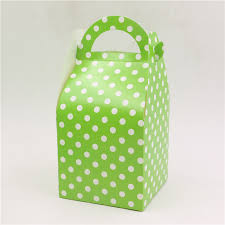 theme gifts happy birthday party candy box kids favors green theme gifts boxes