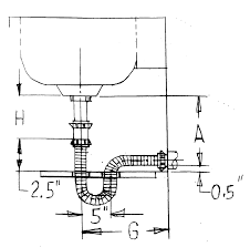 Sinksrus by Drawings Kitchen Sink Traps Wash Basin Trap House Trap Kitchen