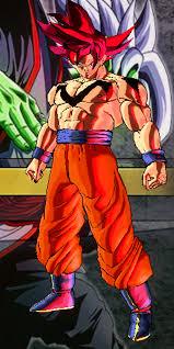 goku super saiyan red false super saiyan god rockeronder