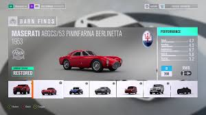 maserati maserati fans forza horizon 3 barn finds guide shacknews