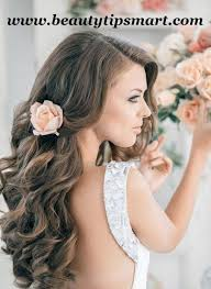 curly wedding hairstyles for brides 2017 trends