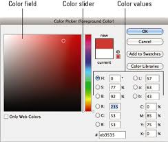 how to use color picker in photoshop cs6 dummies