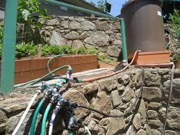 watering your garden organic growers