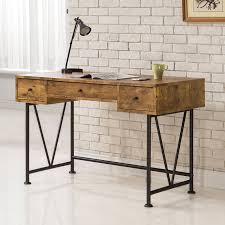 Writing Desks For Home Office Coaster Company Writing Desk Antique Nutmeg Black Walmart