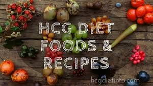 hcg diet foods and recipes hcg diet info