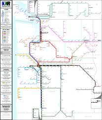 L Train Chicago Map by Submission U2013 Fantasy Map Pacific Northwest Usa Transit Maps