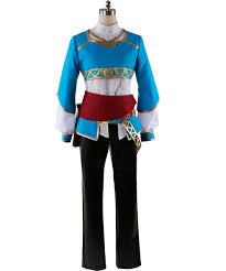 Princess Zelda Halloween Costume Aliexpress Buy Legend Zelda Breath Wild