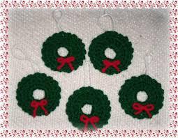 wreath xmas tree ornament 2014 crochet patterns patterns 2014