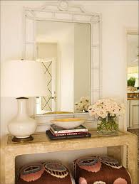 Entry Console Table With Mirror Five Ways To Hang Art Above A Console Table A Thoughtful Place