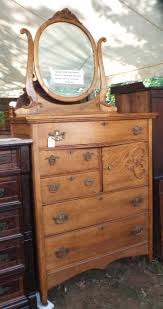 Antique Tiger Oak Dresser With Mirror by Furniture Repairs U0026 Restoration