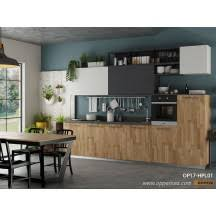 Wood Grain Laminate Cabinets Kitchen Cabinet