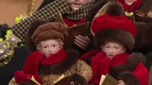 dickens carolers in sleigh by valerie page 1 qvc