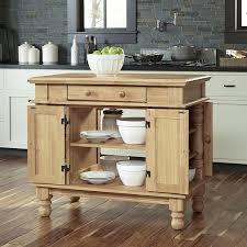 maple wood ginger raised door home styles americana kitchen island