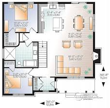 large bungalow house plans house plan w3147 v2 detail from drummondhouseplans com