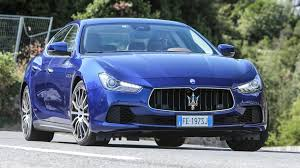 maserati black 4 door maserati ghibli diesel 2016 review by car magazine