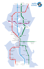 Washington Subway Map by New Subway Map Seattle Bothell Kenmore How Much Taxi Live