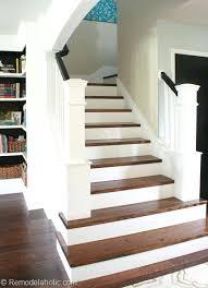 Oak Banister Makeover Hardwood Staircase Pictures U2013 Smartonlinewebsites Com