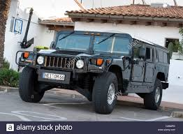 military hummer h1 hummer h1 civilian off road vehicle in spain stock photo royalty