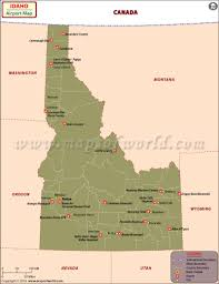 Map Of Florida Airports Idaho Airports Map Airports In Idaho