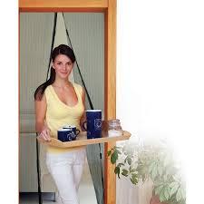 Patio Door Magnetic Screen Ideaworks Magic Magnet Screen Door Black Jb7513 Walmart